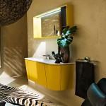 Beautiful yellow bath