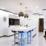 Modern interiors are bright kitchens