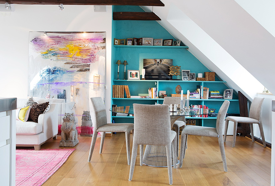 The cozy loft apartment in Stockholm | Ideas for Home ...