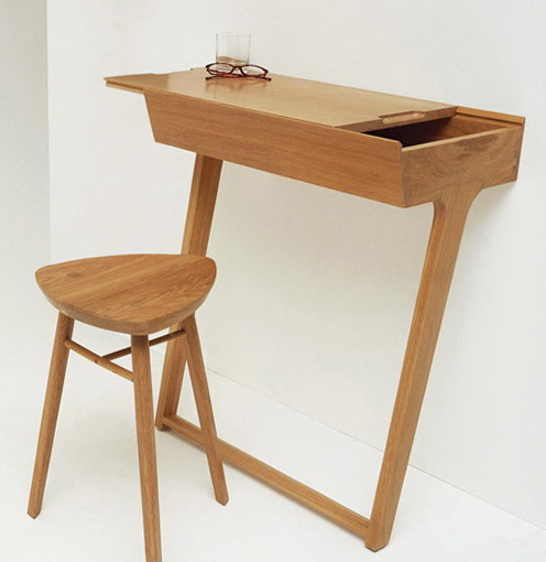 1-TABLE IN THE WALL