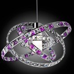 A beautiful crystal chandeliers from Italy collection «Queen»