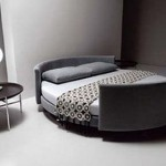Round bed convertible