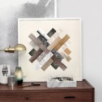 Bright prints on canvas from Christina Krogh