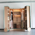 Convenient cabinet - wardrobe from Hosun Ching