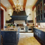 Kitchen interiors in the English style