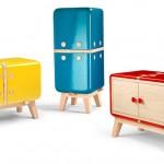 Luxury colorful lockers KERAMOS
