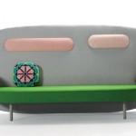 Modern Sofa Float Sofa from Karim Rashid