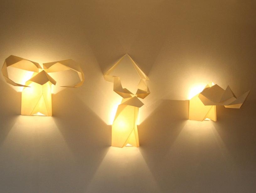 1-Amazing lamp origami animals