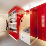 Convertible bed from Private Red Nest