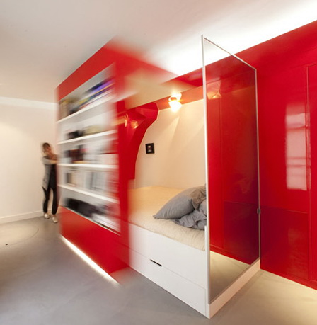 1-BED IN CABINET