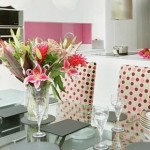 Beautiful kitchen in pink