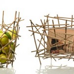 Convenient bamboo items for the interior