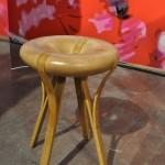 Elegant stool from designer from Taiwan