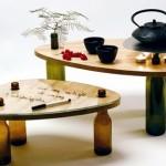 Convenient modular coffee tables