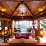 Master bedroom with stunning views of the beautiful nature