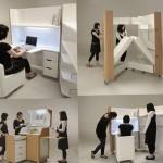 Unique furniture and a minimalist